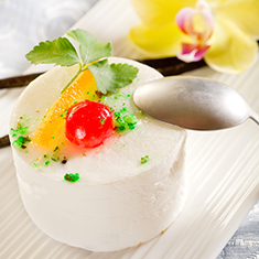 Yogurt mousse