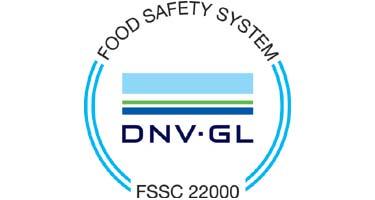 Certification FSSC 22000 - Fugar Produzione S p A